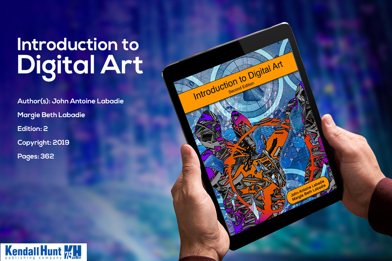 The eBook textIntroduction to Digital Artprovides readers with factually correct information about the subject area of digital art. The book provides a clear and thorough introduction to digital art history, tools, and practice. It covers a wide range of related topics including: important innovators in the history of computing; overviews of computer hardware, software and peripherals; a gallery of contemporary digital artists; and chapters dealing with the effects of computing on design, advertising, the sciences, art criticism and curation, and the future of digital art. It also includes a bibliography and a glossary. This text is written at an introductory level and seeks to inform readers on a wide range of subjects related to digital art as practiced primarily in the visual domain. Get more information by clicking on the book image.